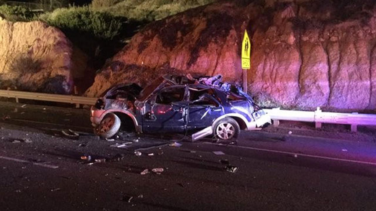 5 people injured in car crash on Pacific Coast Highway near Laguna ...