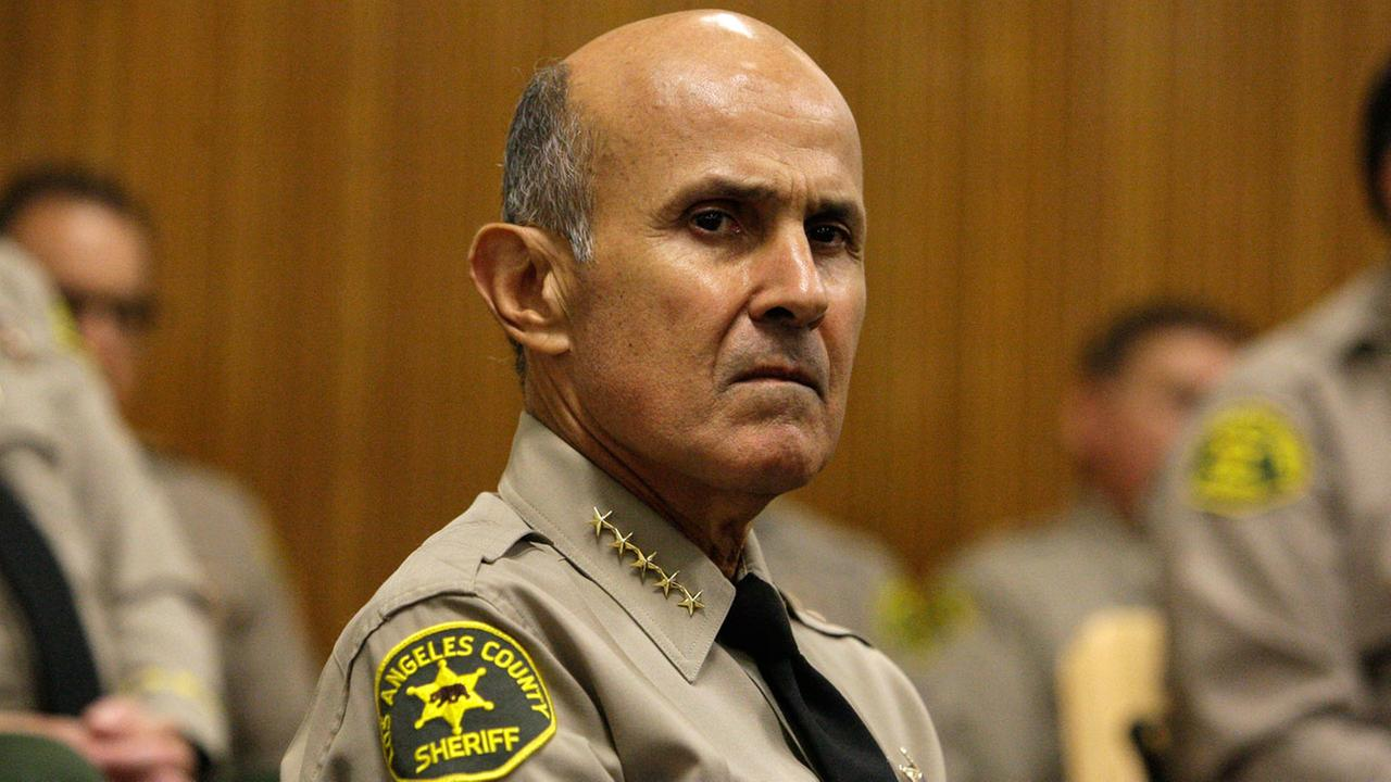 Former Los Angeles County Sheriff Lee Baca at the Mens Central Jail in downtown Los Angeles Wednesday, Oct. 3, 2012.