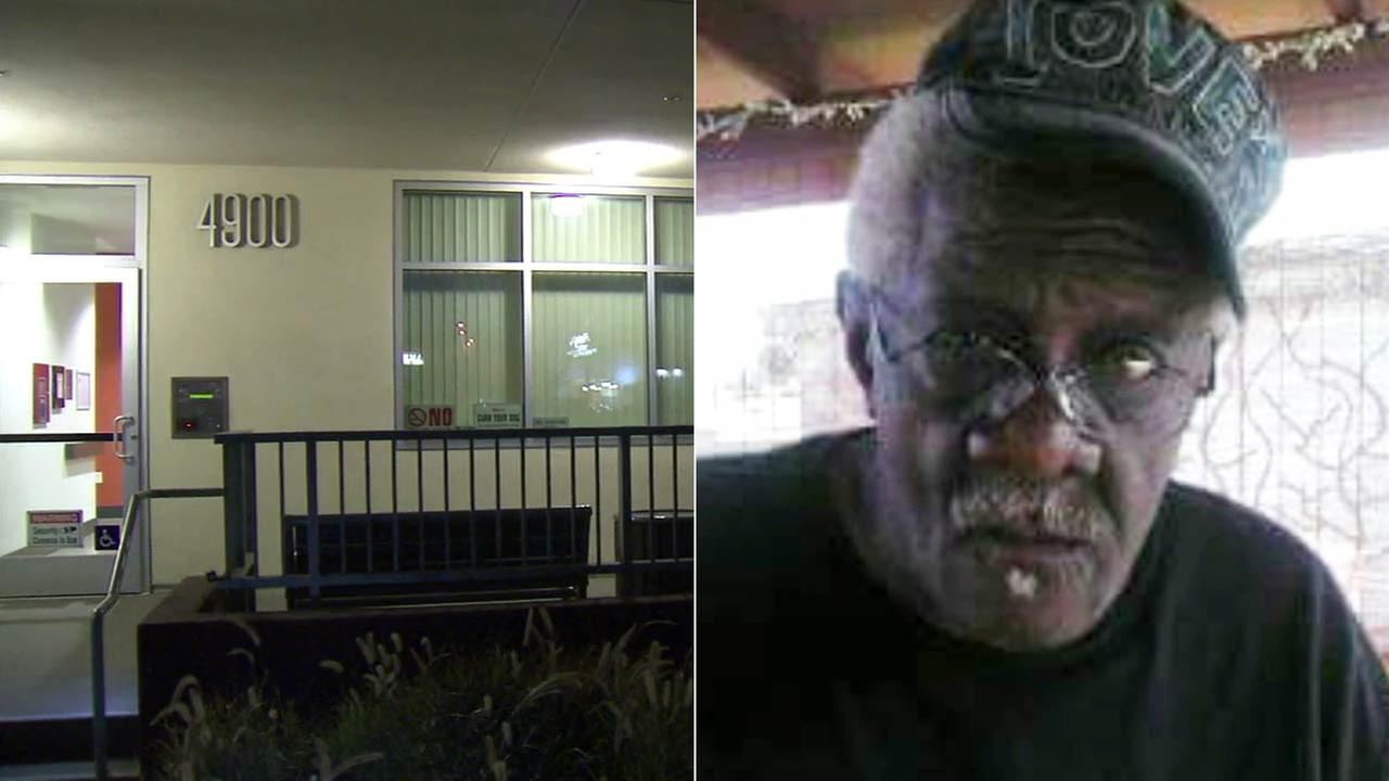 Robert Caldwell, 74, right, was found dead with multiple stab wounds in the 4900 block of Vineland Avenue in North Hollywood on Thursday, Feb. 11, 2016.