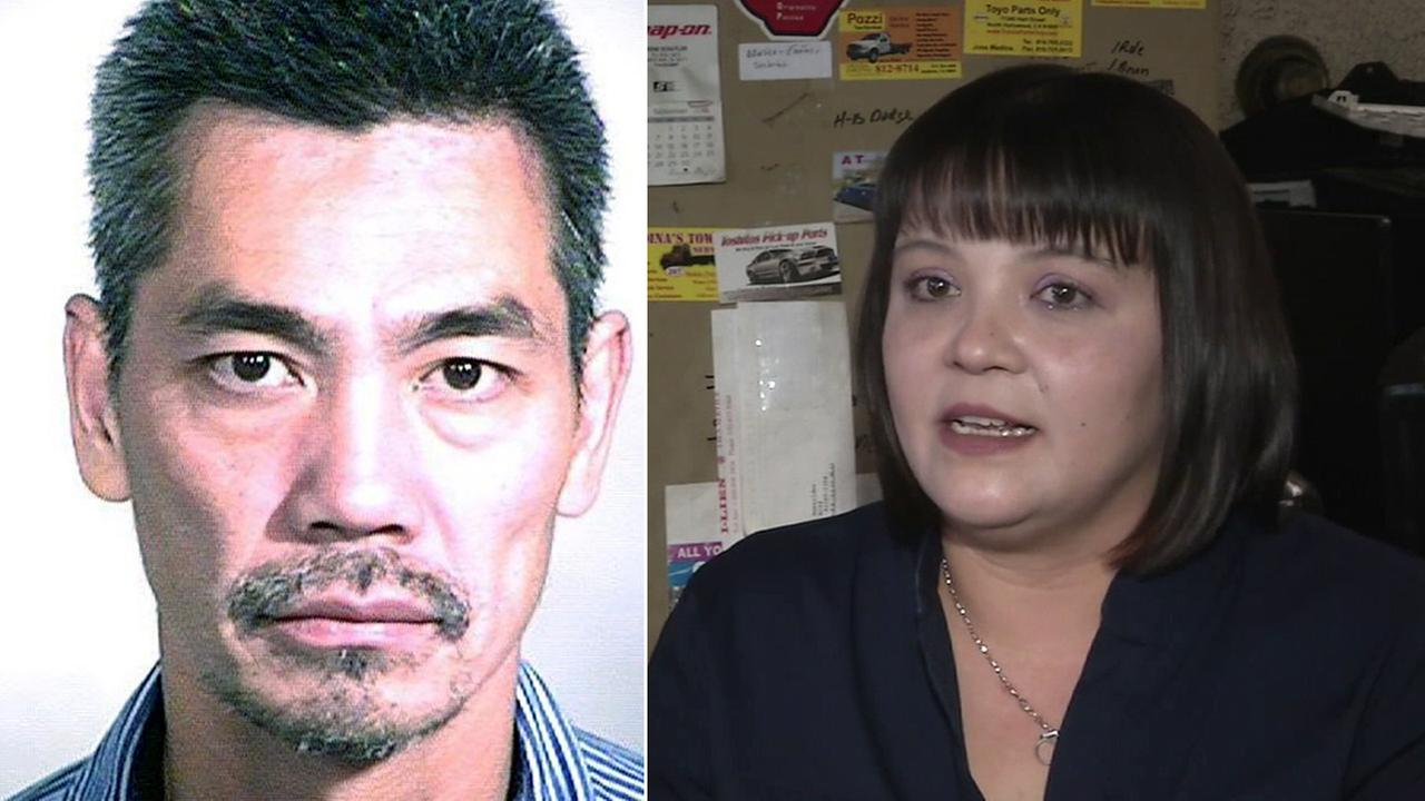 The woman who helped turn in Bac Duong, one of the three Orange County jail escapees, broke her silence Friday, Feb. 12, 2016 in an exclusive interview with Eyewitness News.