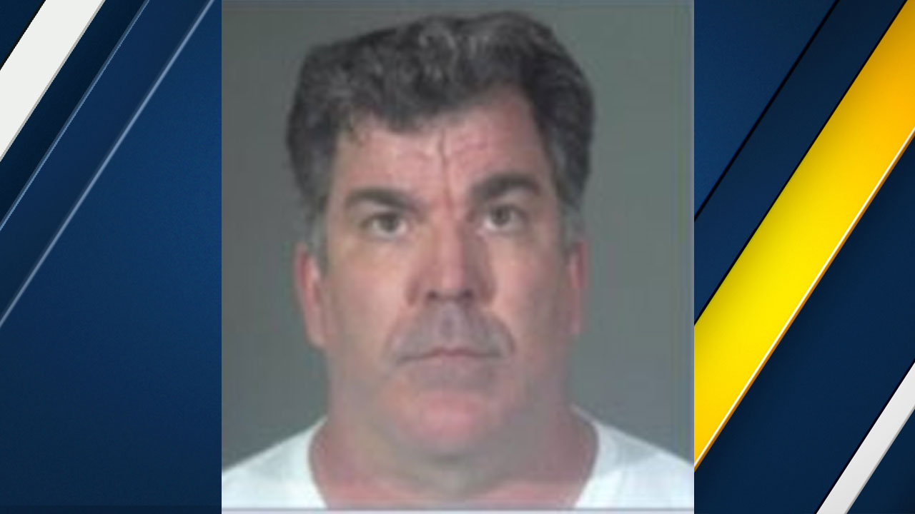 Kevin McElwee, 49, of San Pedro, is shown in a mugshot provided by Torrance police.