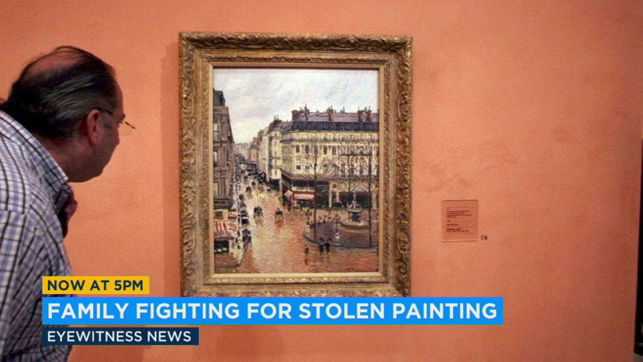 A painting now valued at $30 million and taken by the Nazis decades ago is at the center of a legal battle in Los Angeles.