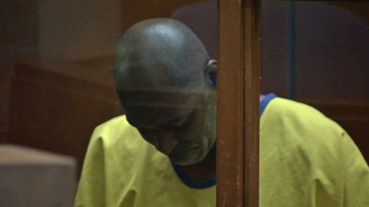 Actor Michael Jace appears at an arraignment hearing at a Los Angeles courthouse on Wednesday, June 18, 2014.