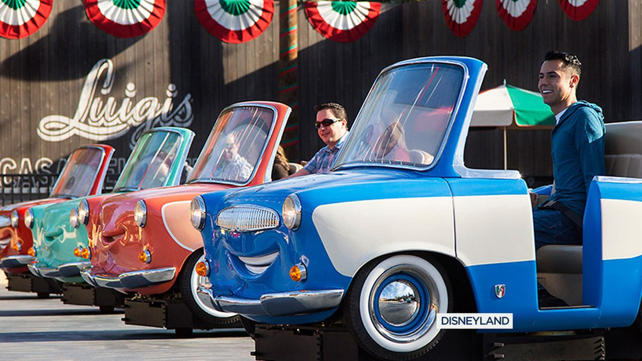 File photo of Luigis Rollickin Roadsters at Disneys California Adventure.