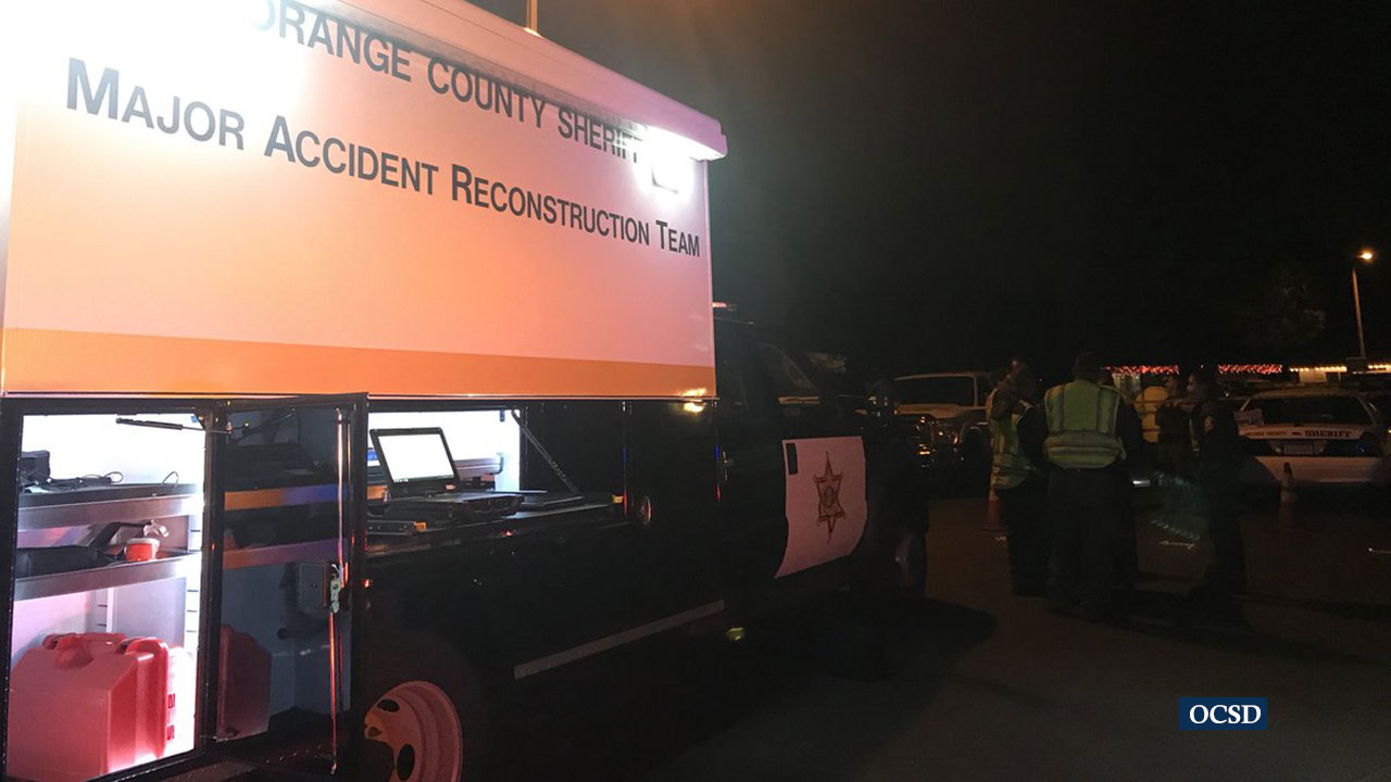 The Orange County Sheriffs Department is investigating the death of a child struck by a vehicle in Yorba Linda.