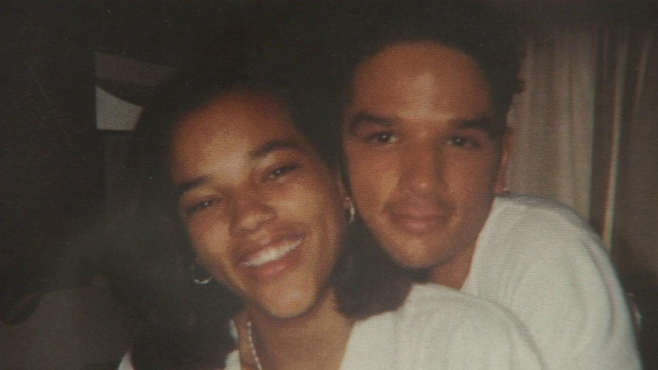 April Jace and her brother are shown in this undated file photo.