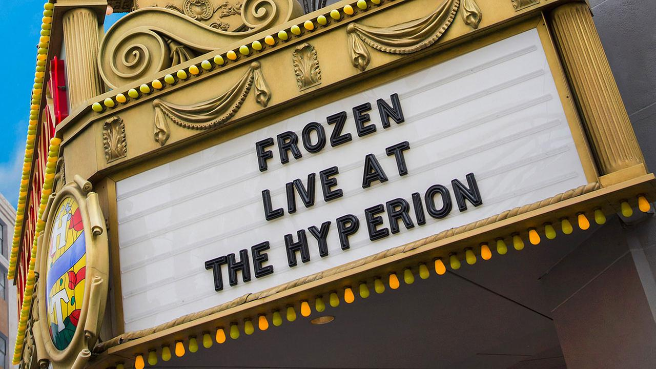 An all-new Frozen theatrical production will open at the Hyperion Theater at Disney California Adventure on May 27.