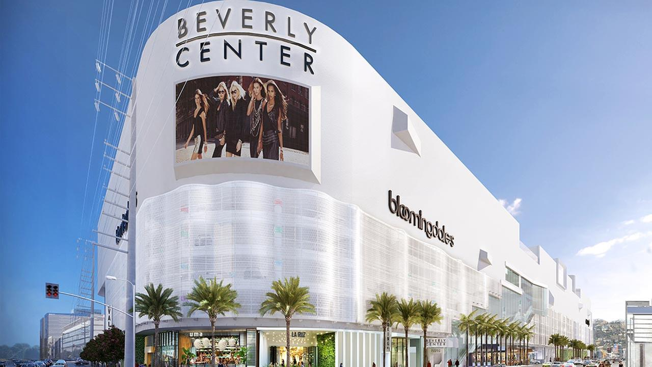 Beverly Center Unveiling Renovation With High End Restaurants Abc7