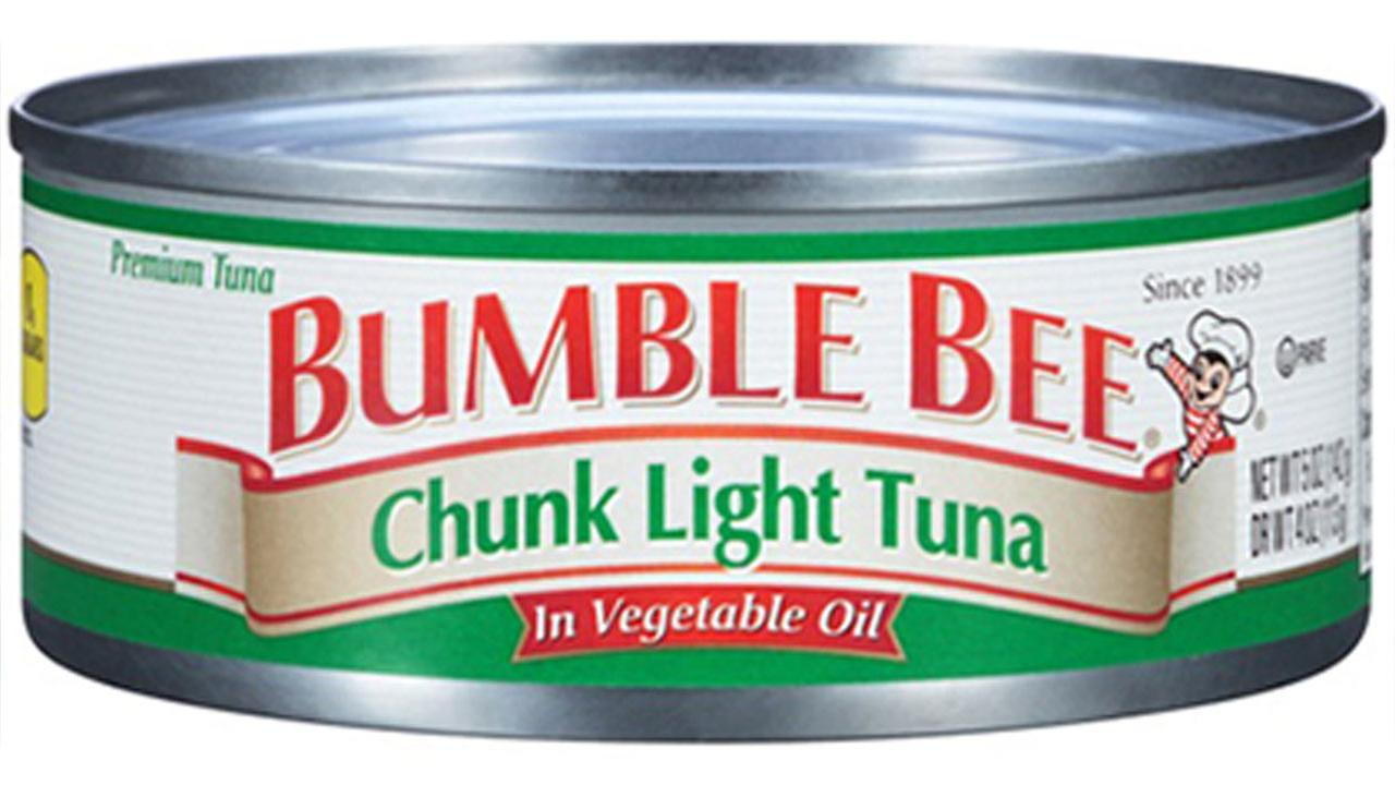 A type of Bumble Bee tuna that is part of a voluntary recall is seen in this photo from the U.S. Food and Drug Administrations website.