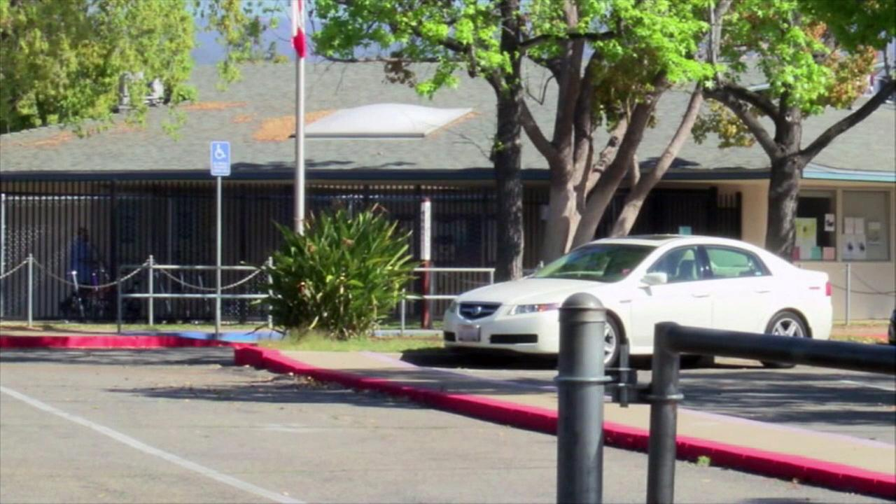 A kindergartner pulled a pellet gun from his backpack and threatened his teacher at Oak Hill Elementary School in Escondido on Thursday, March 17, 2016, according to officials.