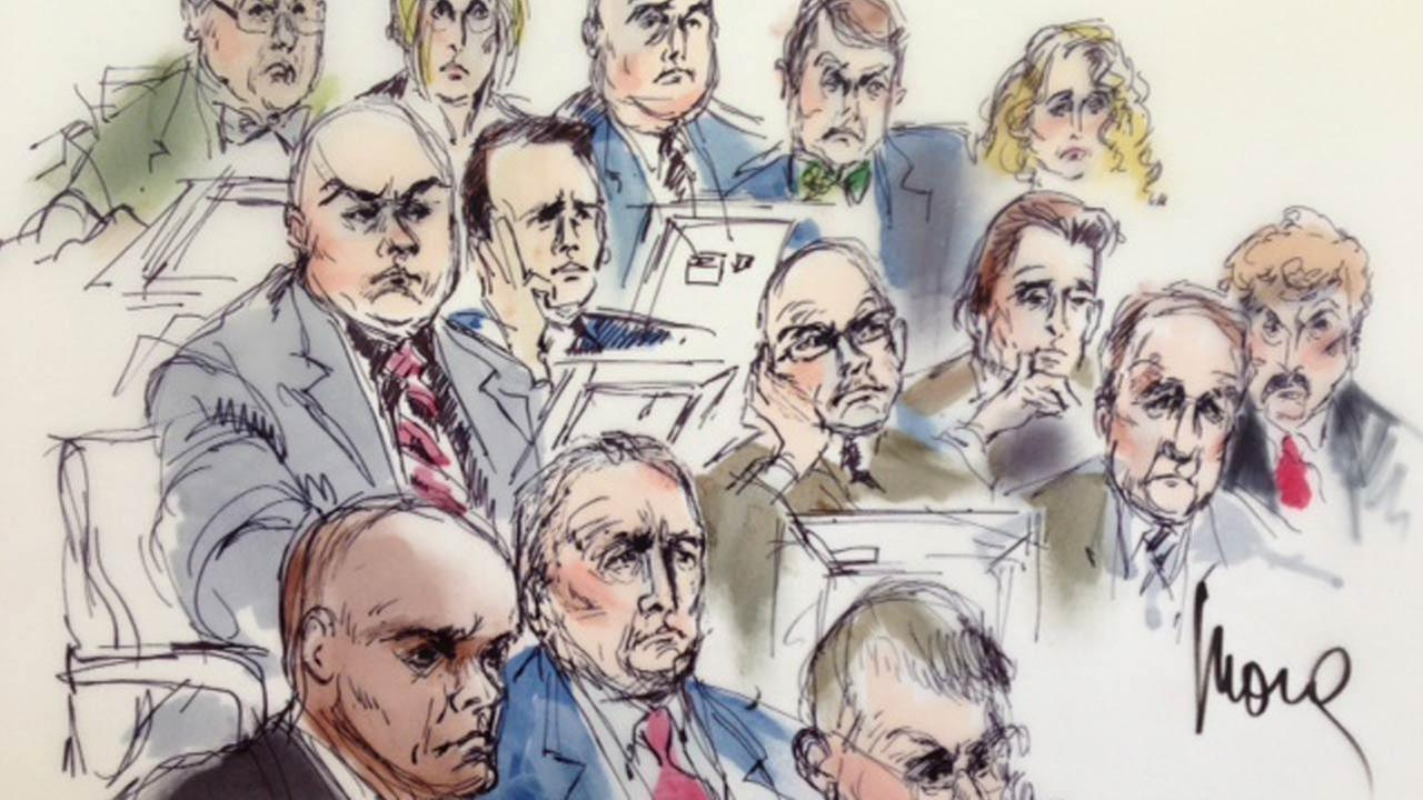 Closing arguments are set for Friday, June 20, 2014 in the trial of six current and former members of the Los Angeles County Sheriffs Department.