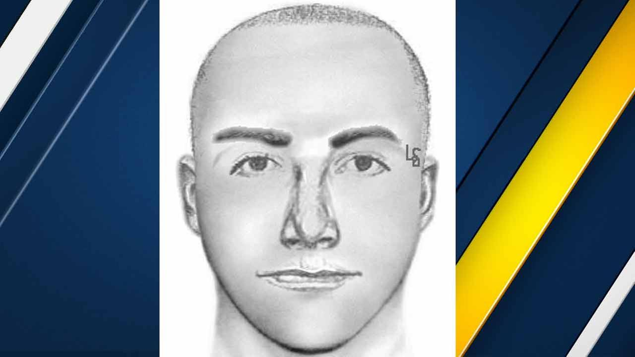 A sketch of a man released by Ontario police on Saturday, April 1, 2016, who is accused of attempting to kidnap a 13-year-old boy in Ontario, Calif.