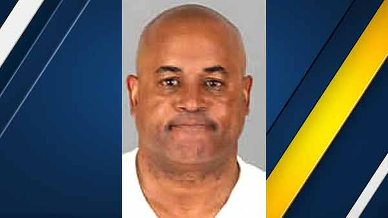 Christopher Samuel, 54, is seen in a mugshot issued by the Riverside County Sheriffs Department.