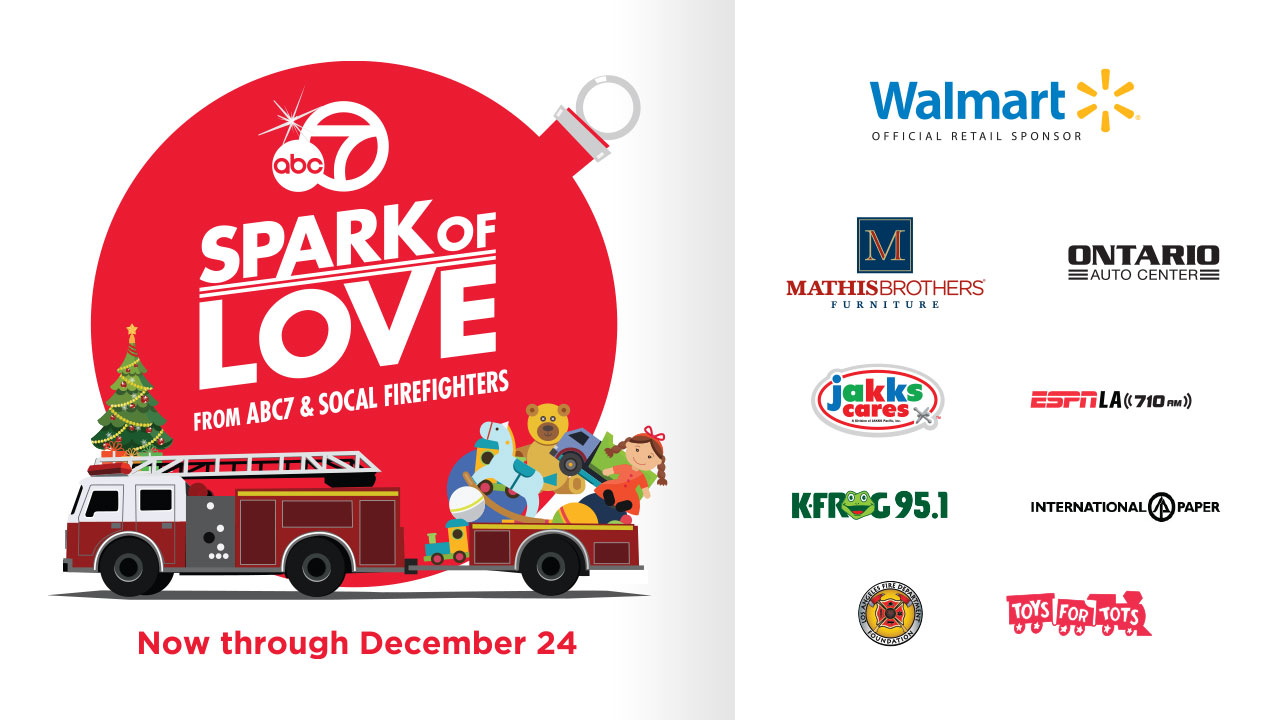 Spark of Love Toy Drive 2018 - Donate today