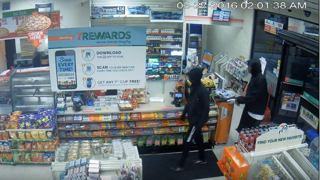 Police are hoping that video of two men robbing a San Pedro convenience store can help bring in tips from the public.
