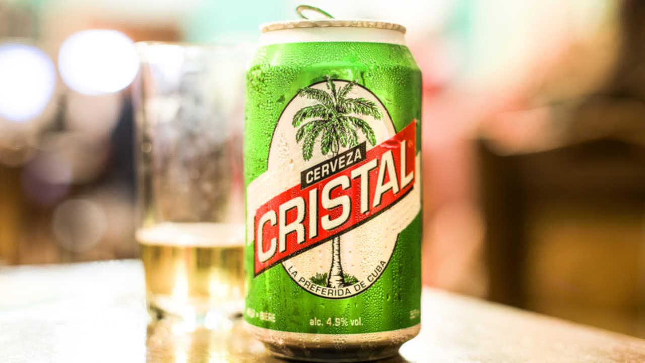 Cristal beer is seen in this file photo provided by Shutterstock.