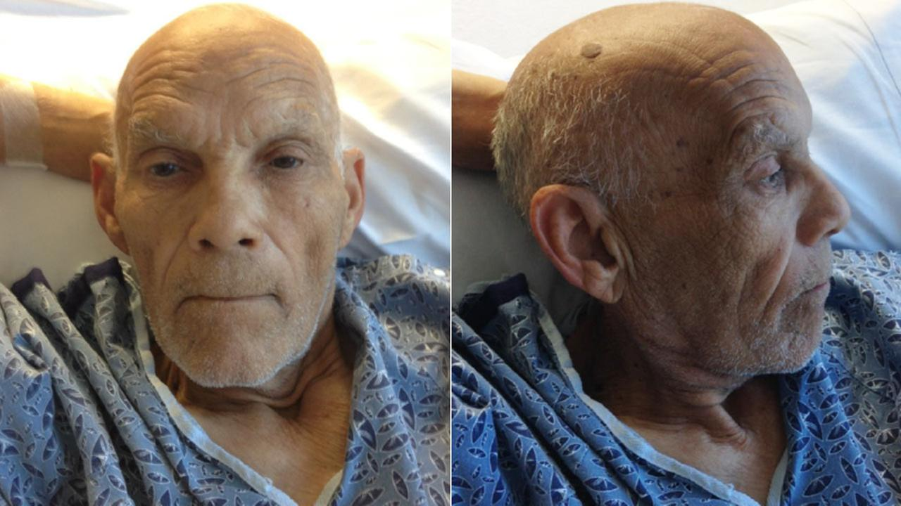 These photos show a man who was found with no proof of identification on an MTA bus, according to the L.A. County Sheriffs Department.