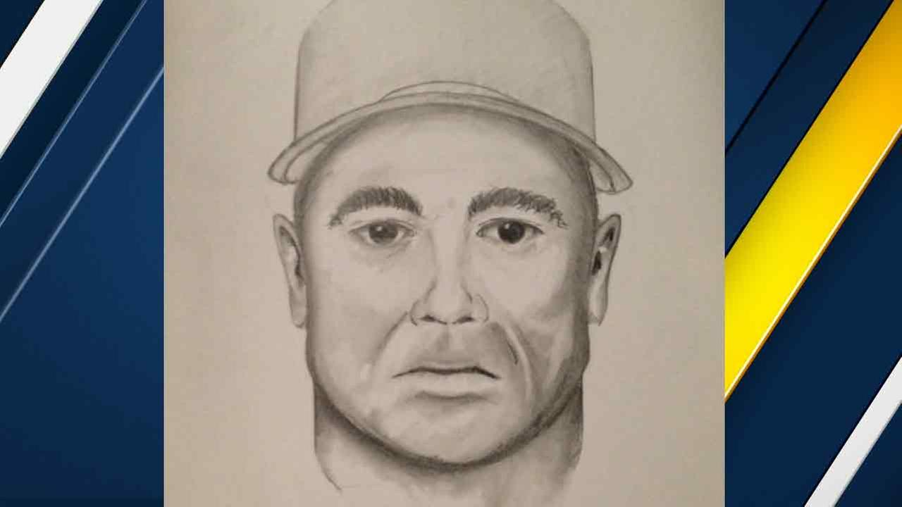 The sketch of a man accused of indecent exposure at an Orange County elementary school.
