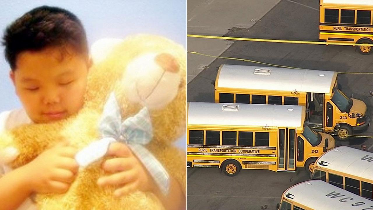 Paul Lee, a 19-year-old special needs student, seen left on a GoFundMe page set up by family, was found dead in a school bus in Whittier on Sept. 11, 2015.