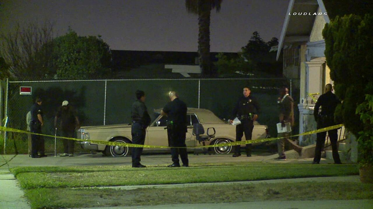 A mother and her baby were stabbed in Exposition Park on Monday, May 2, 2016, according to police.