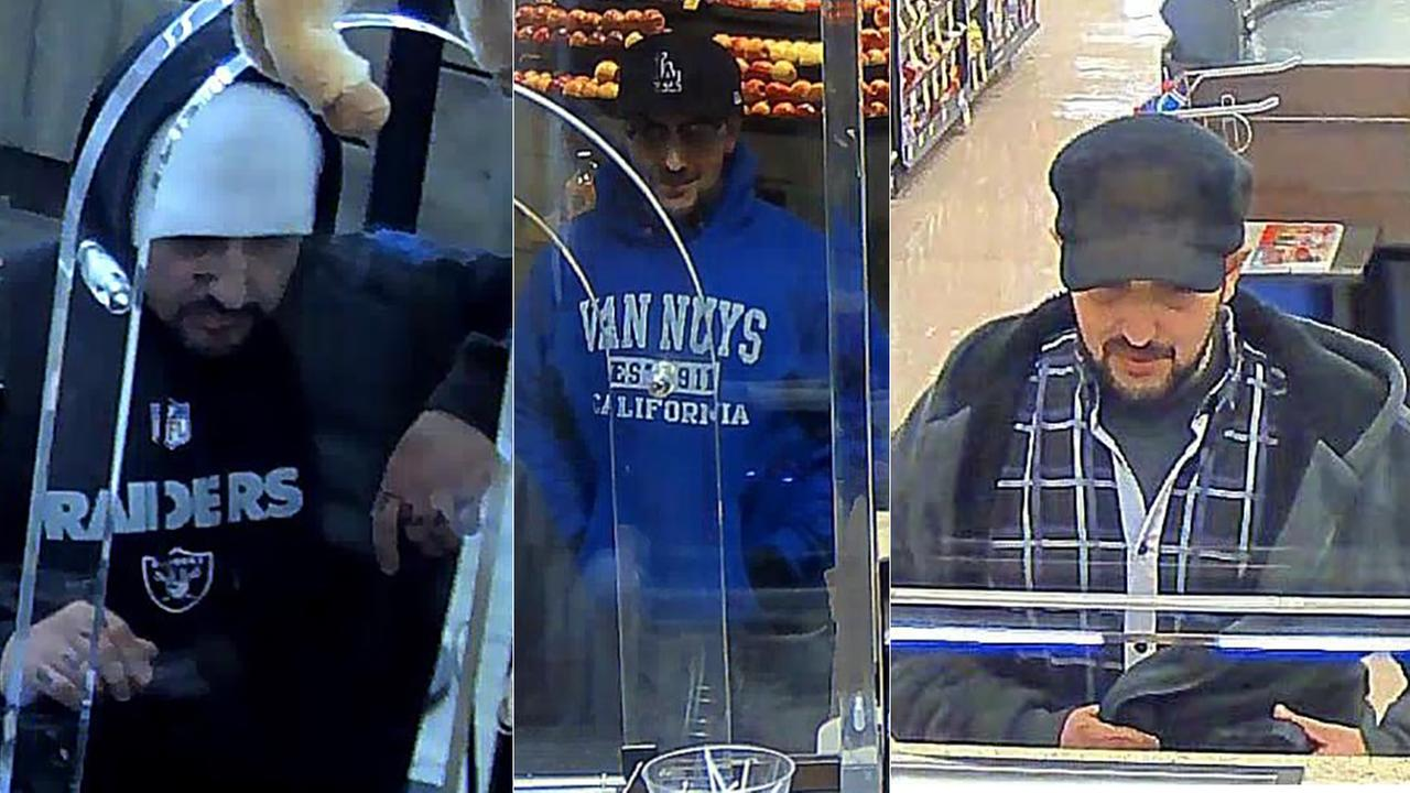 The FBI is searching for bank robbers dubbed the Knuckle Bandits.