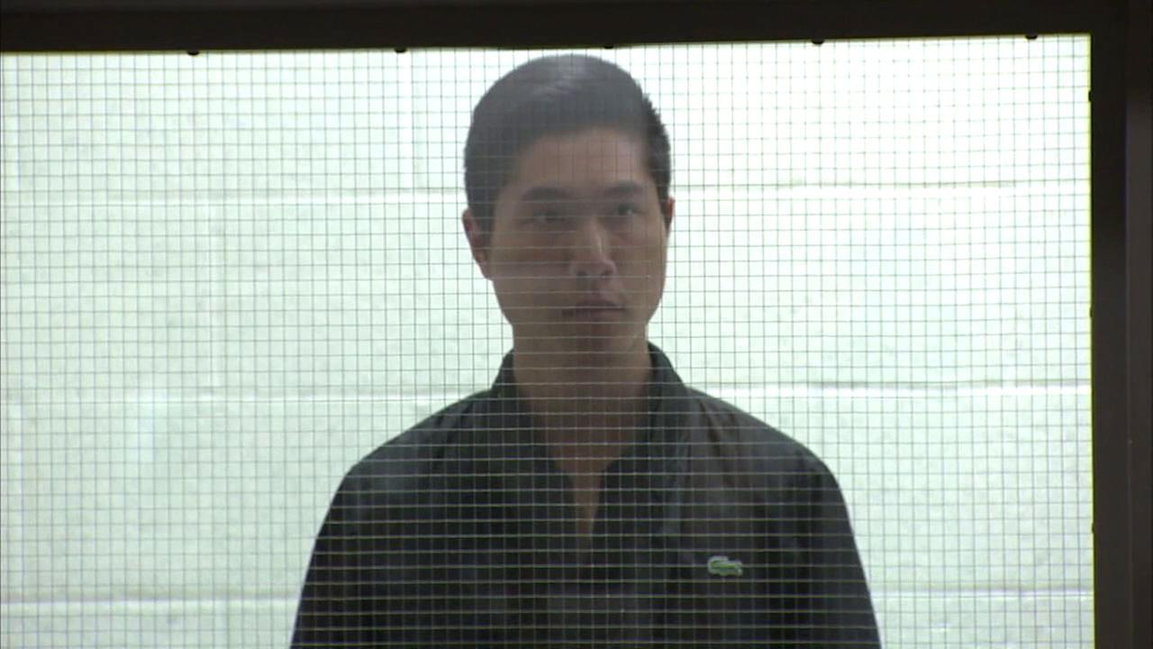 Michael Roe Chien Hsu, 24, appeared in court on Tuesday, May 31, 2016 on felony charges of attempting to drug a date with intent to commit a sex crime.