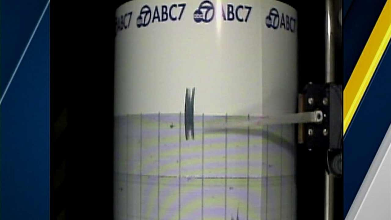 Shaking from a 3.6-magnitude earthquake that struck the Yucca Valley area on Thursday was captured on the ABC7 quake cam.