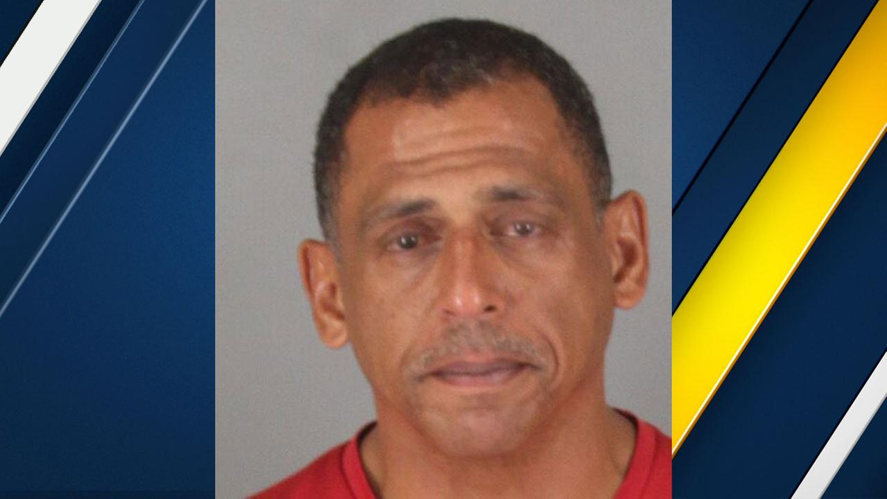 Lake Elsinore Mayor TO Brian Tisdale, 53, is shown in a mugshot released by the police department.