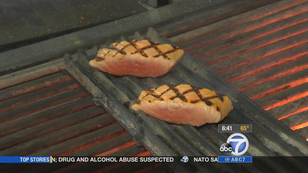Eye on L.A. host Tina Malave paid a visit to the grill master, Chef David Lefevre, for some grilling tips.