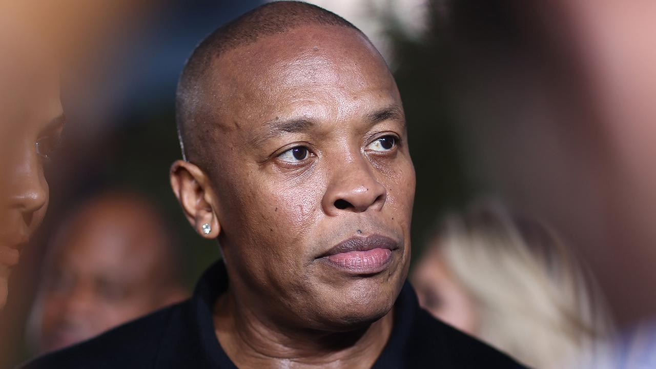 Dr. Dre arrives at the Los Angeles premiere of Straight Outta Compton at the Microsoft Theater on Monday, Aug. 10, 2015.