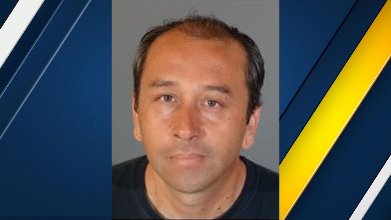 Richard Camarena, 45, of Claremont, is shown in a mugshot.