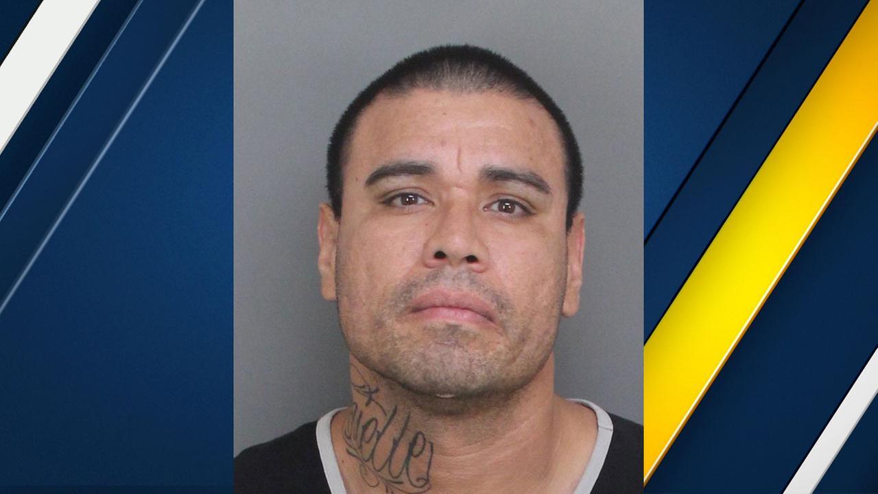 Simon Daniel Gonzalez, 38, of Ontario, is shown in a mugshot.