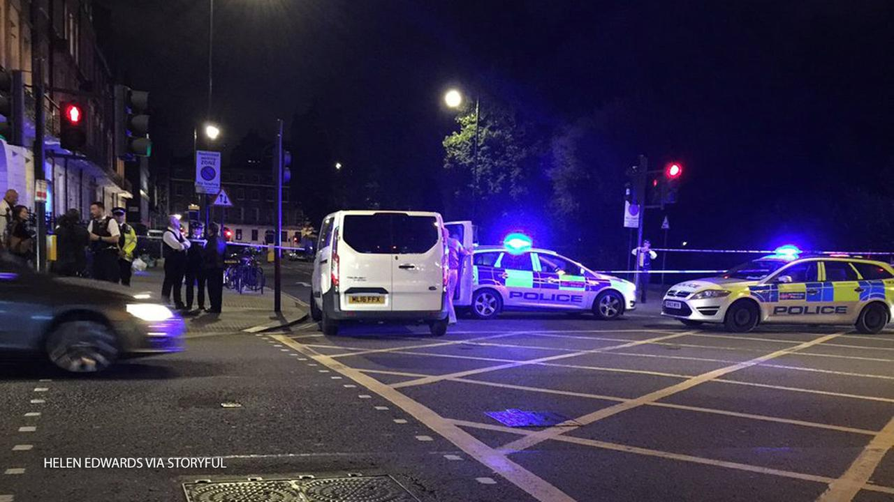 One person was killed and five were injured during a knife attack in London, England, on Wednesday, Aug. 3, 2016, according to police.