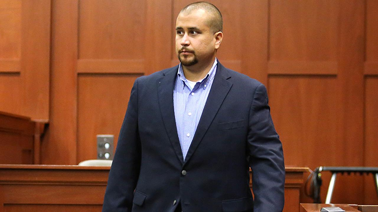 George Zimmerman leaves the witness stand after testifying during a hearing for accused shooter Matthew Apperson, Tuesday, Sept. 22, 2015.