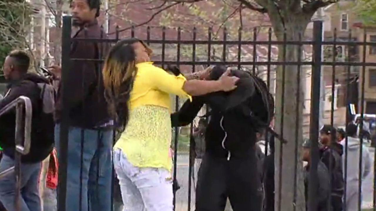 Tonya Graham was caught on video grabbing and slapping her son to come home after she found him participating in the 2015 Baltimore riots.