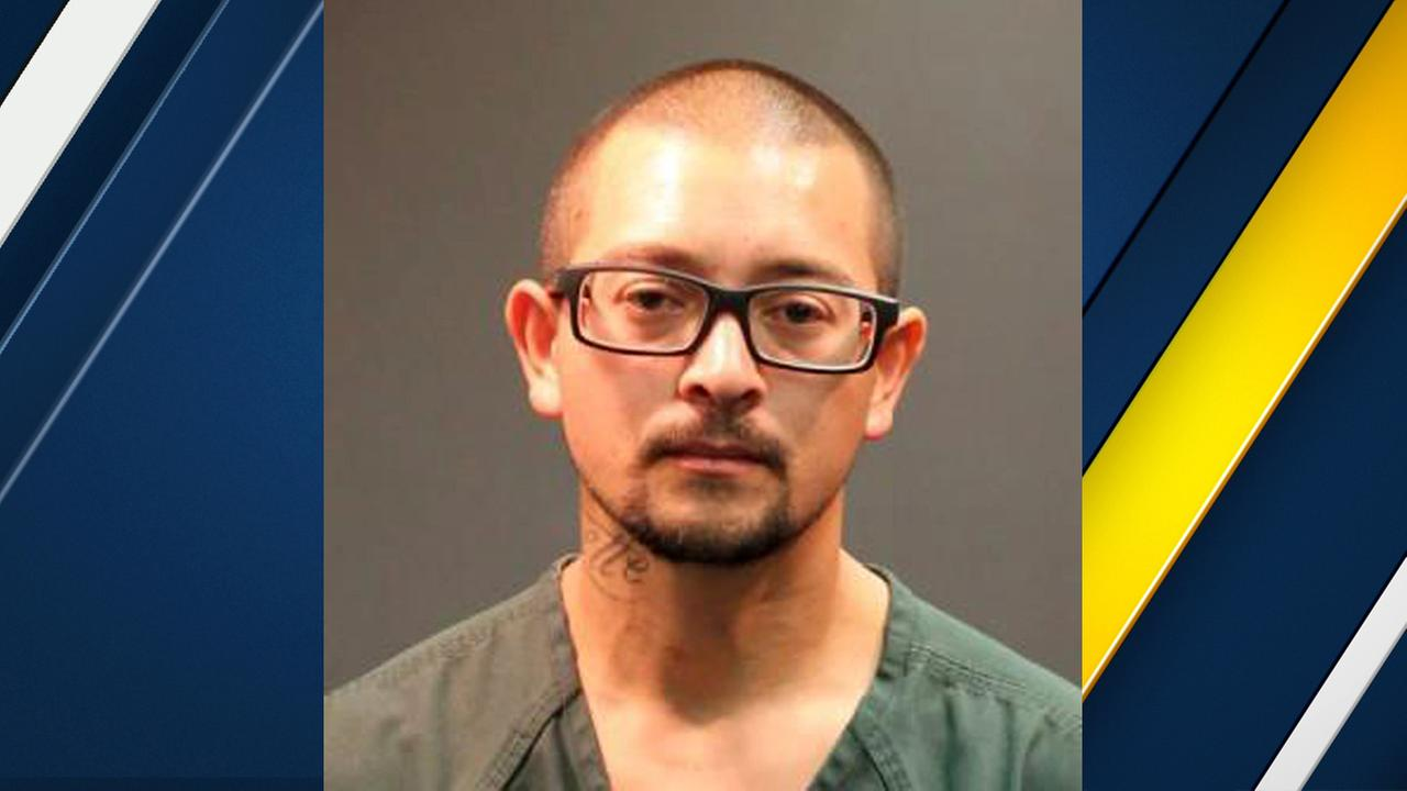 Mario Lopez, 35, was sentenced to 15 months in federal prison for pointing a laser pointer at a helicopter.