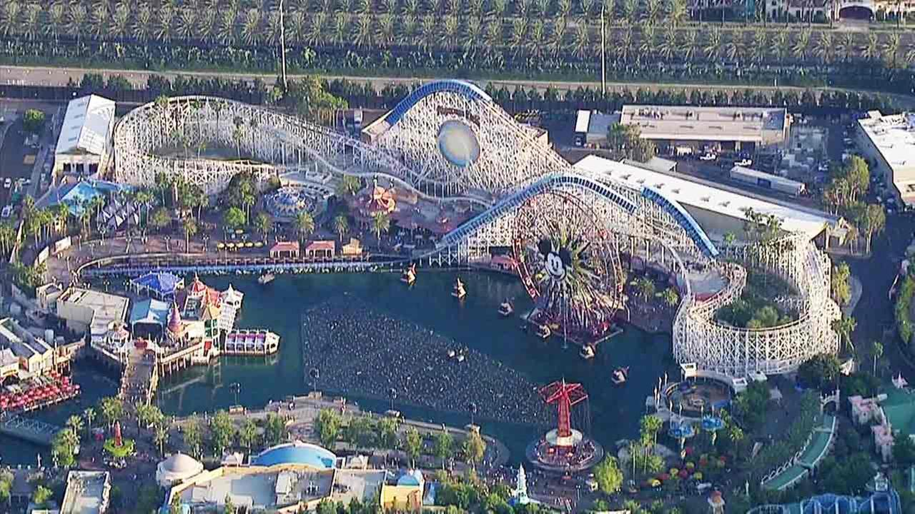 A file photo of Disney California Adventure in Anaheim, Calif.