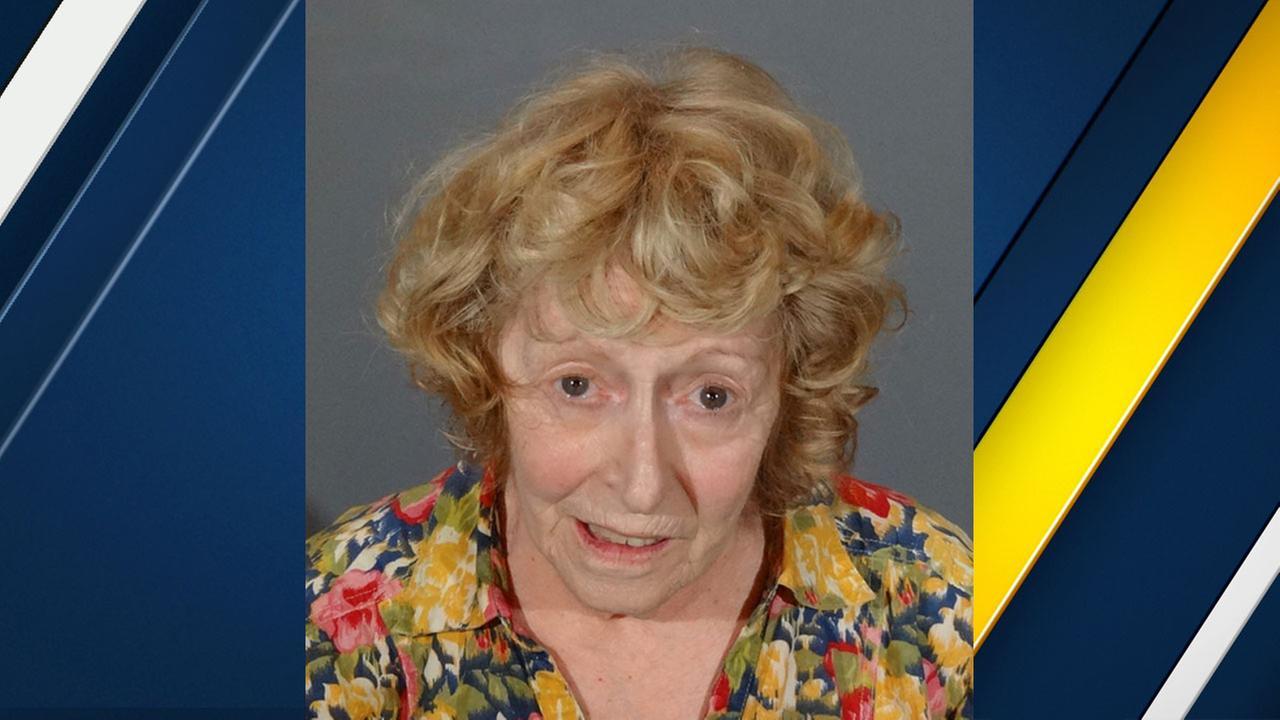 Donna Marie Higgins, 72, is shown in a mugshot.