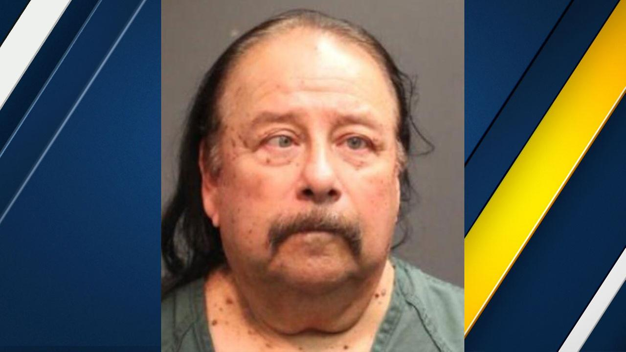 Larry Montanez, 63, of Santa Ana, is shown in a mugshot.