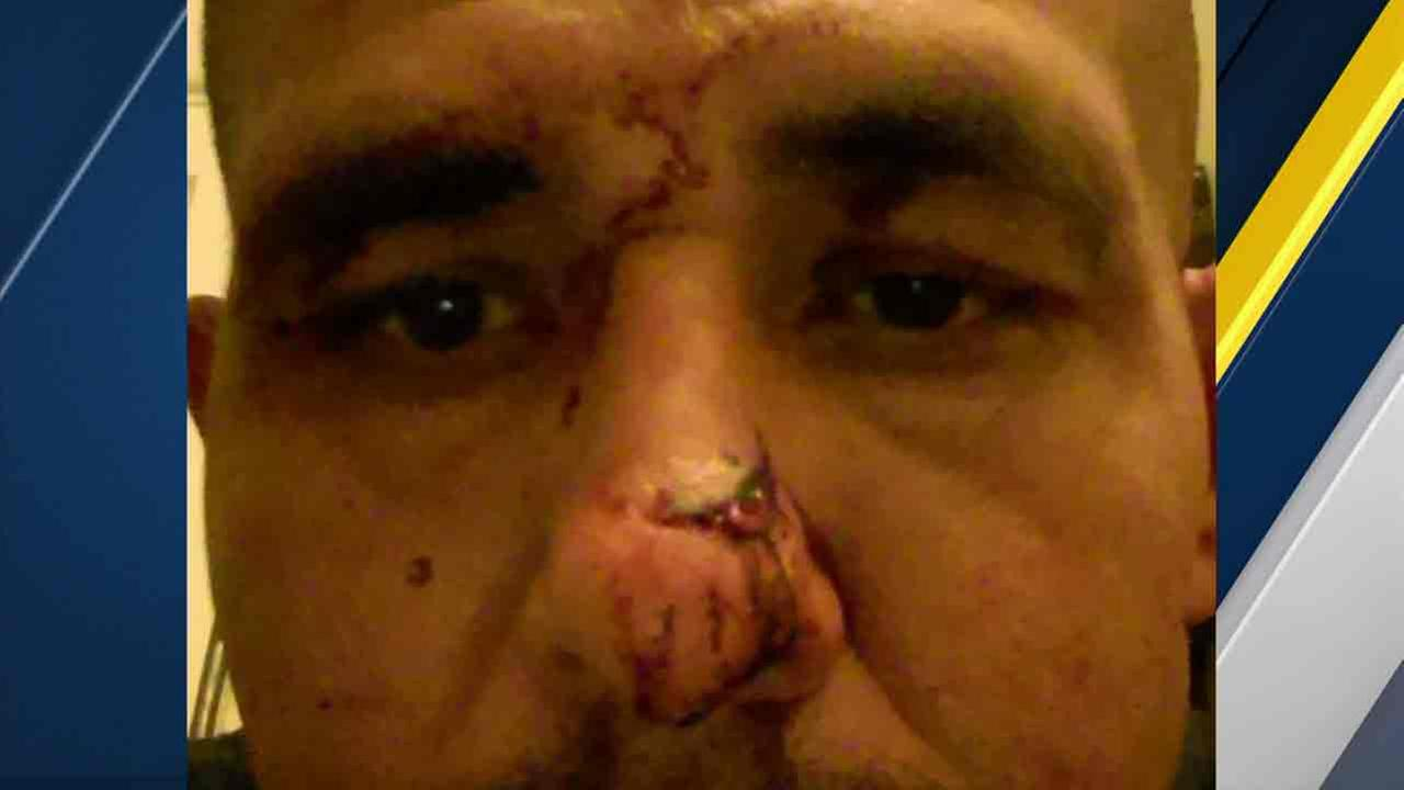 An undated photo of George Ortiz, who said he was beaten by Montebello police.