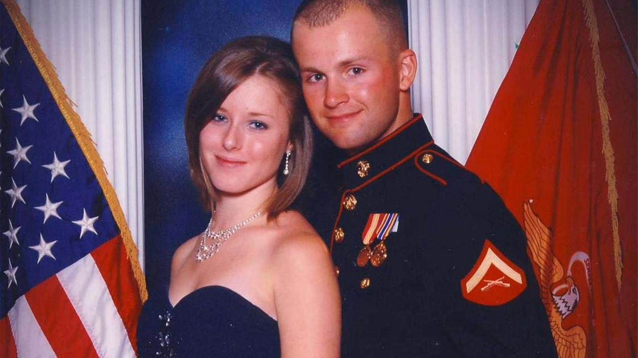Erin Corwin is seen with her husband in this undated file photo provided by officials.