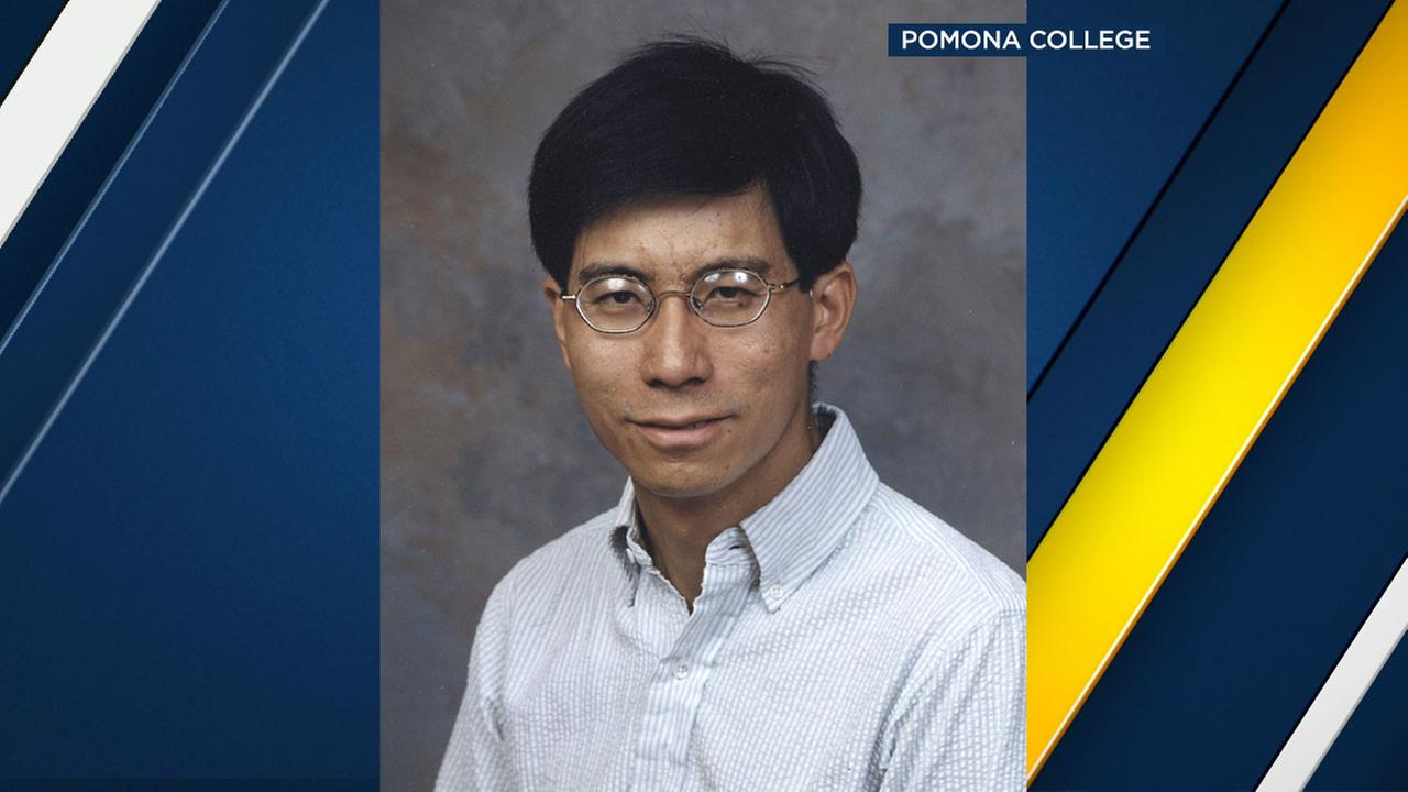 Pomona College professor Alfred Kwok, 50, is shown in a file photo.