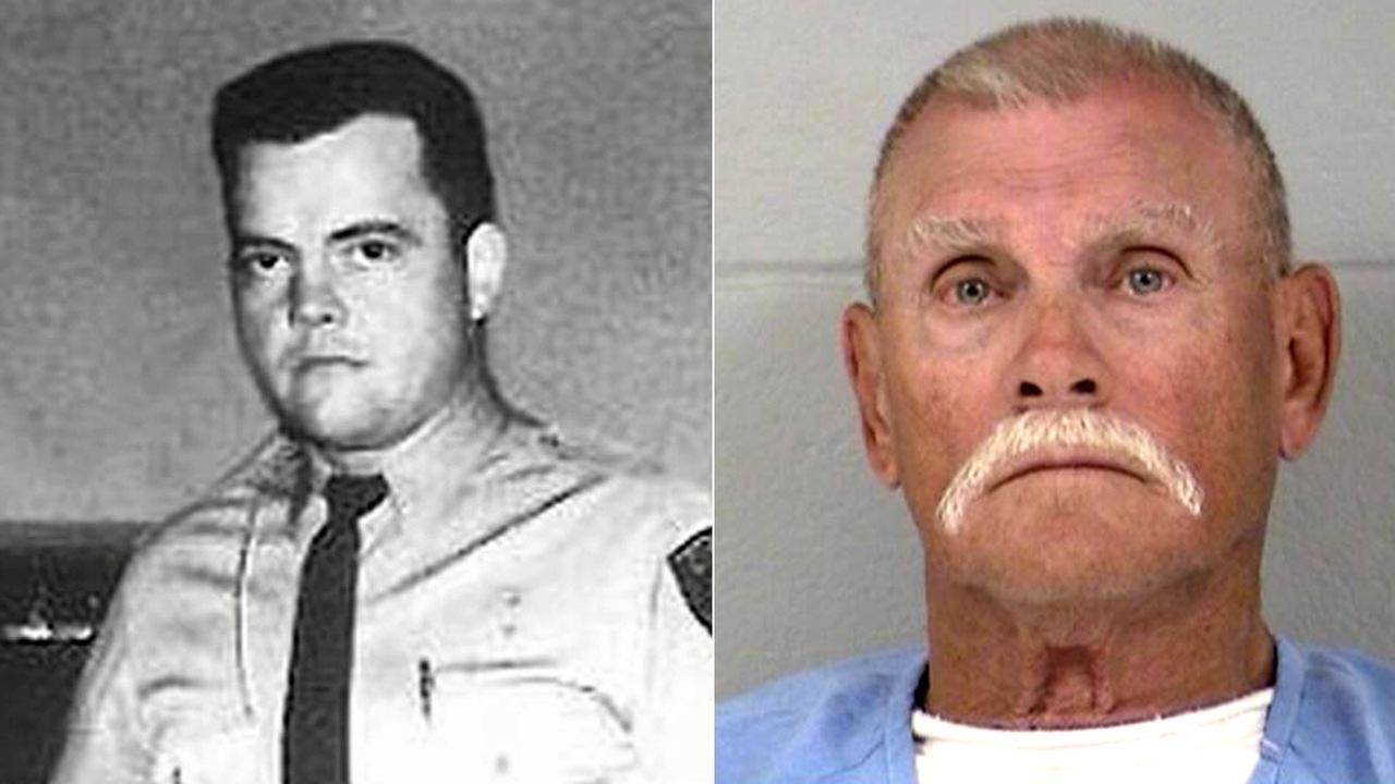 Bobby Joe Denny (right) was convicted of killing Cypress police Sgt. Donald Sowma (left) in 1976.