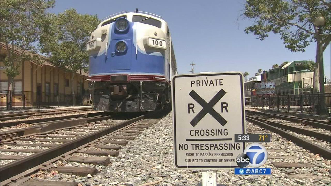 The Fillmore and Western Railway was evicted from the rail line it uses to run its public excursions Wednesday, July 2, 2014.