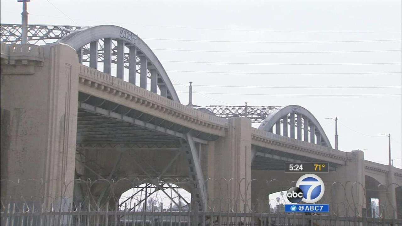 The city of Los Angeles plans to replace the existing 6th Street Viaduct over the Los Angeles River and the 101 Freeway.