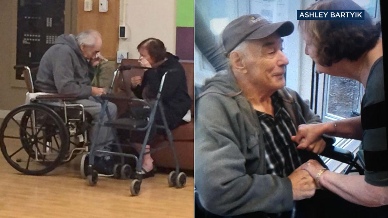 Ashley Bartyik captures photos of her grandparents, Wolfram Gottschalk, 83, and Anita Gottschalk, 81.