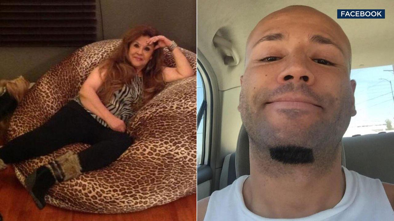 Fernando Vargas, 41, is accused of pushing his mother, 71-year-old Carlota Vargas, out a 2nd-story window, killing her in Van Nuys on Monday, Oct. 10, 2016.