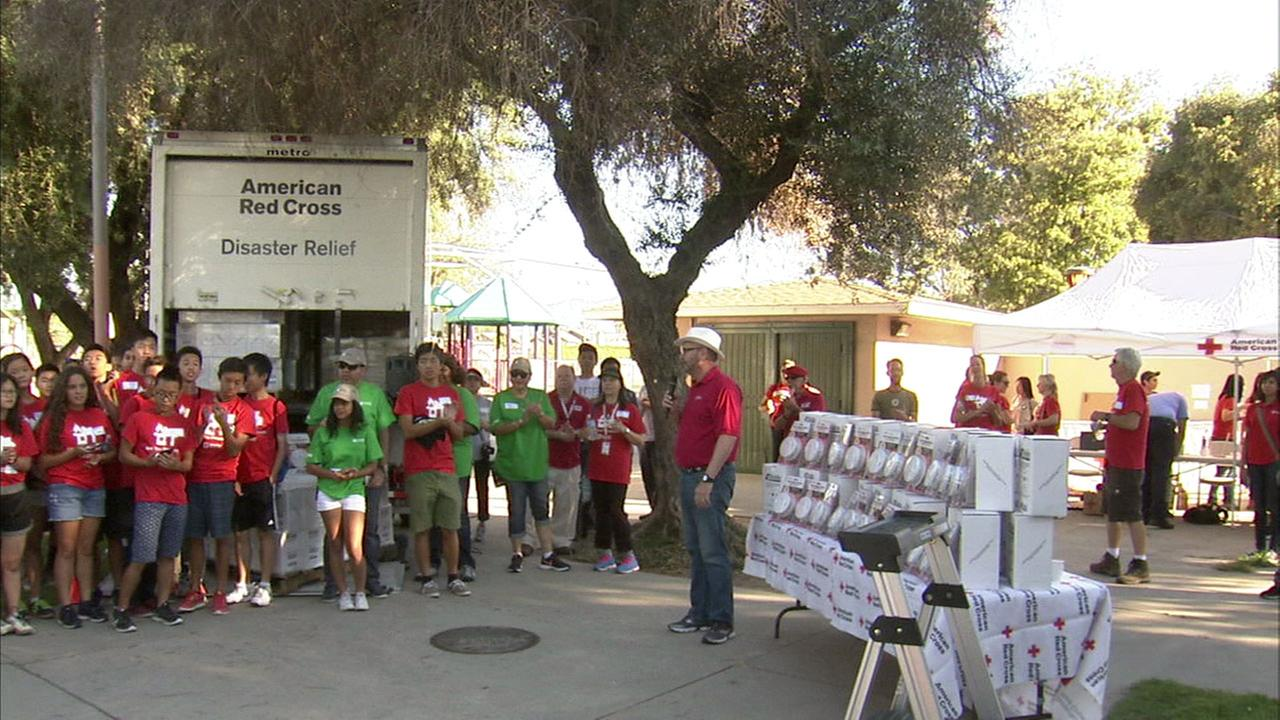 ABC7 joins the American Red Cross and fire safety manufacturer Kidde to gift 300 smoke alarms to homes in Compton.