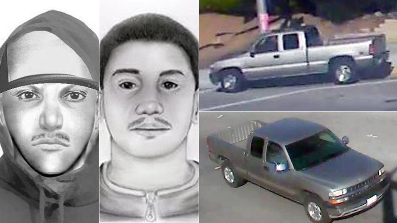 Moreno Valley police released composite sketches and photos of vehicles being sought in connection with multiple sexual battery incidents.