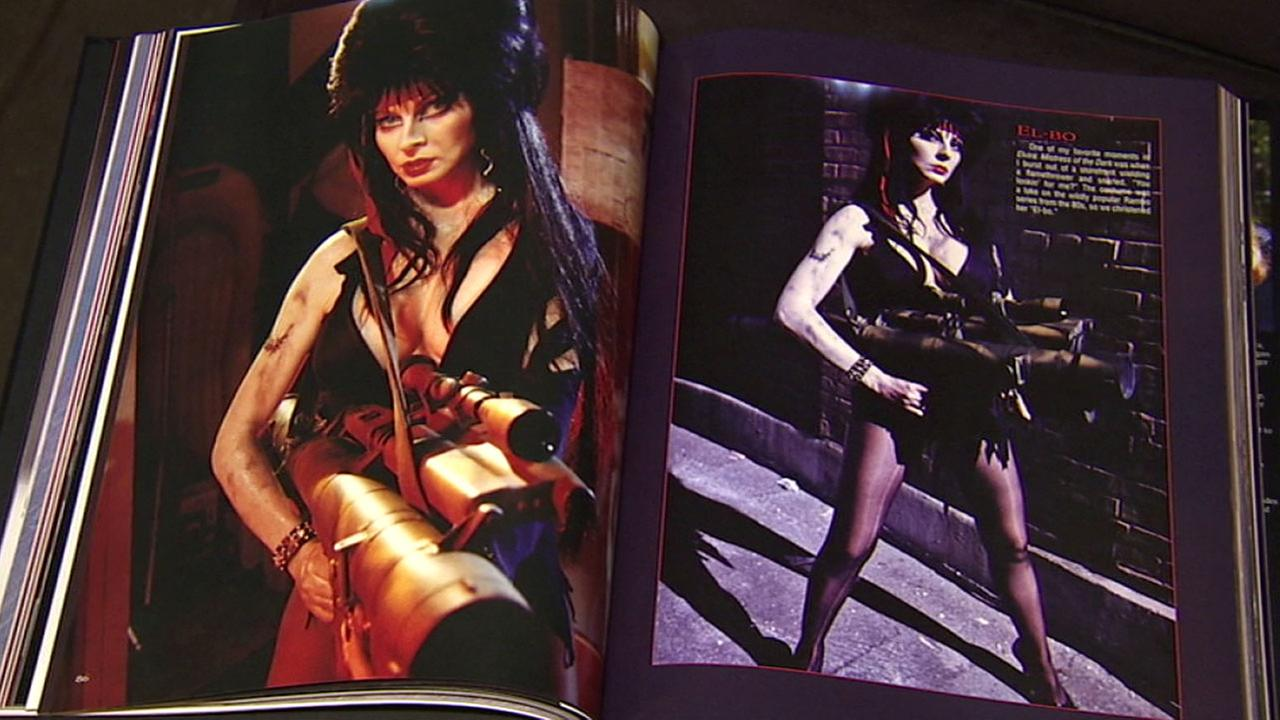 Cassandra Peterson, the actress who created Elvira, released a book featuring photos of the seductive, funny Halloween icon.